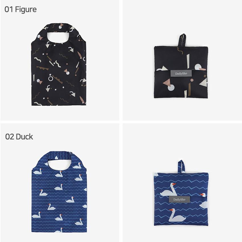 Figure, Duck - Pocket small shopping travel foldable shoulder bag