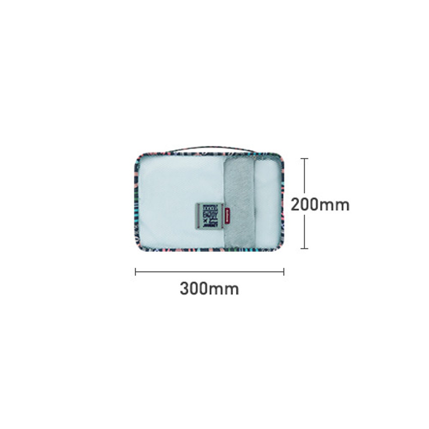 Size - Enjoy journey travel clothes small mesh bag packing aids