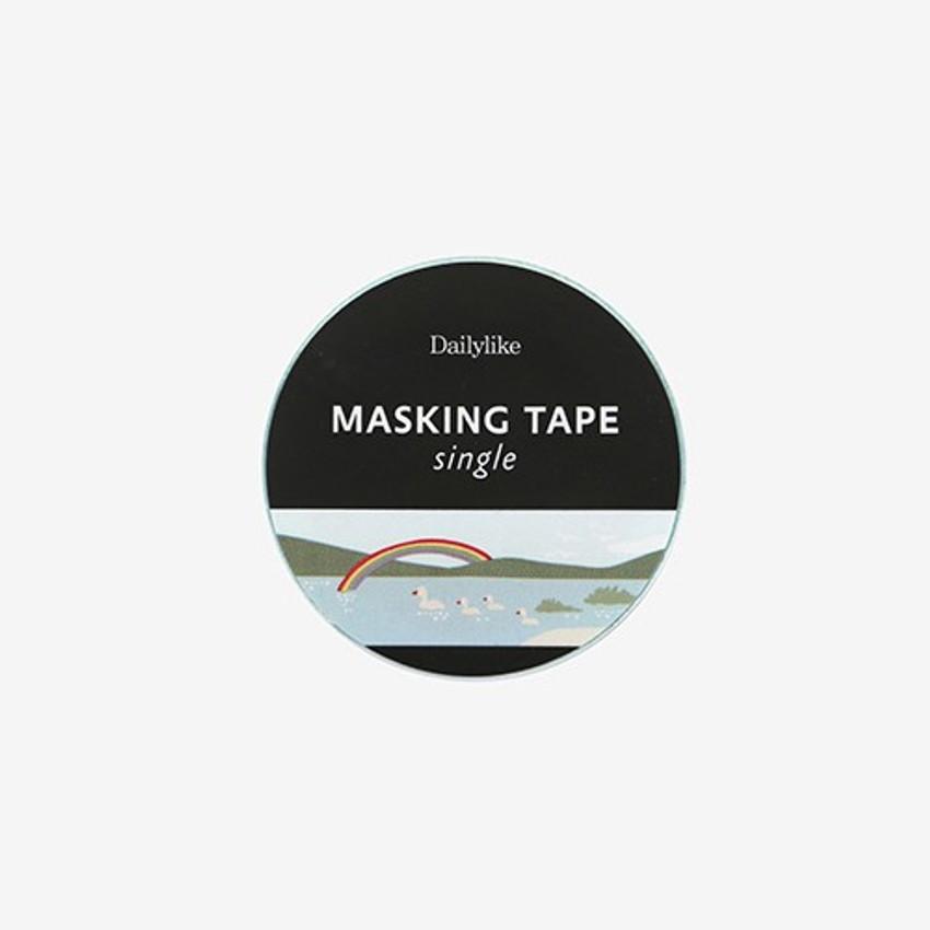 Package for Lake single roll washi masking tape