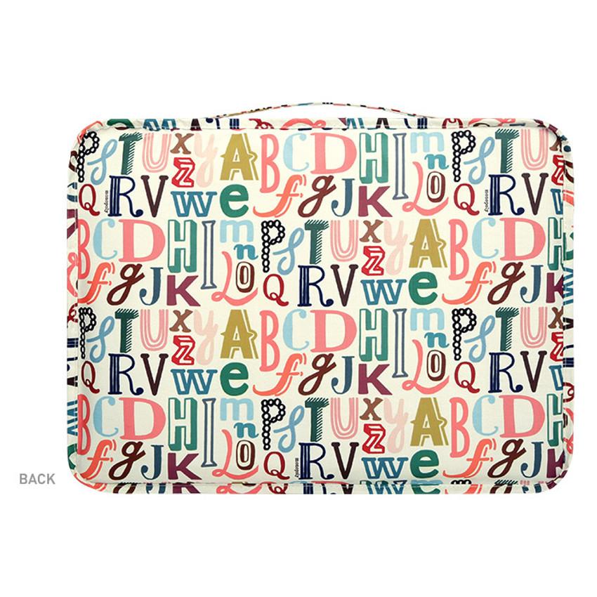 Back - Enjoy journey travel clothes large mesh bag packing aid