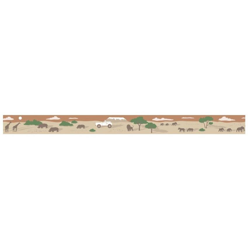 Detail of Safari single roll washi masking tape