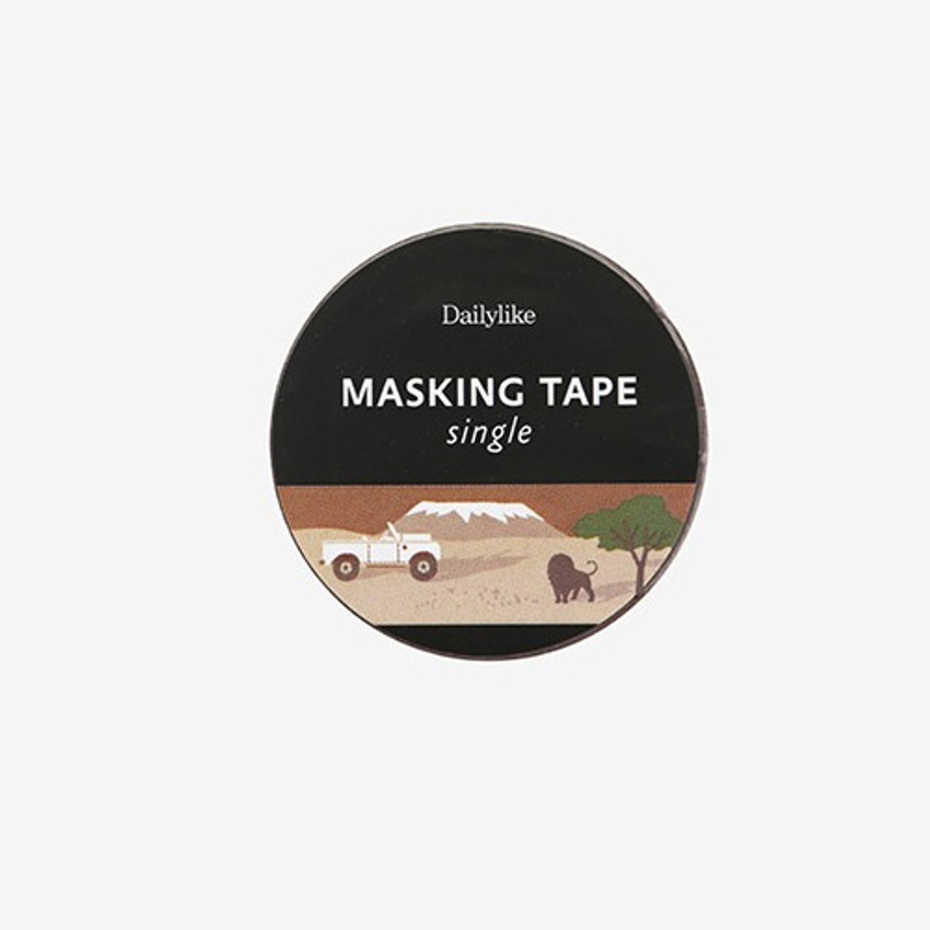 Package for Safari single roll washi masking tape
