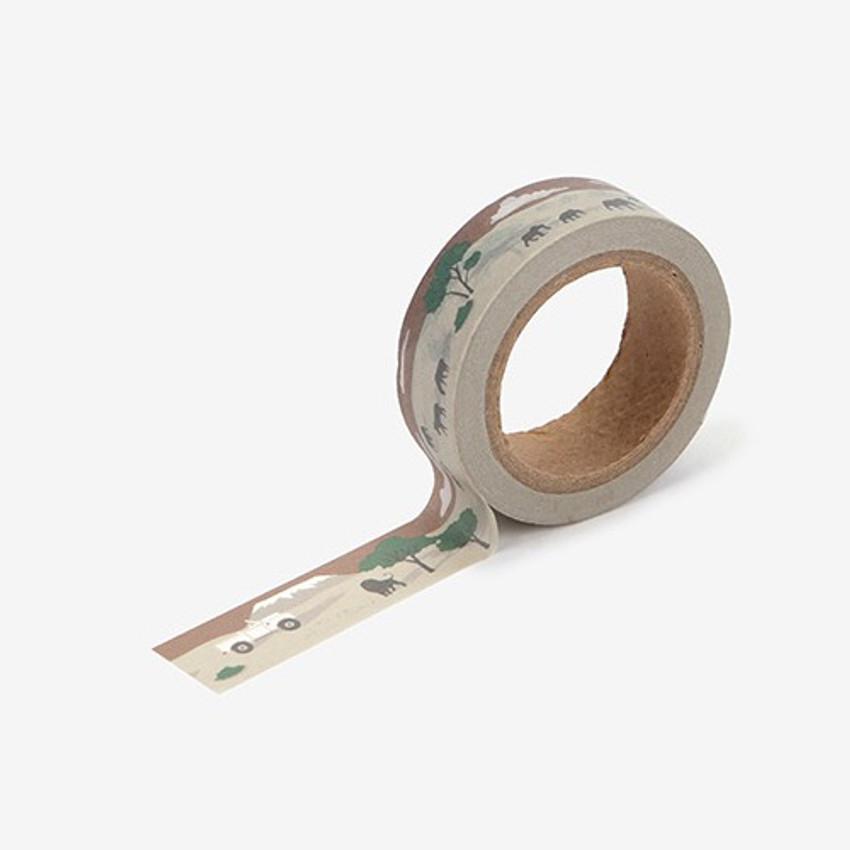 Safari single roll washi masking tape