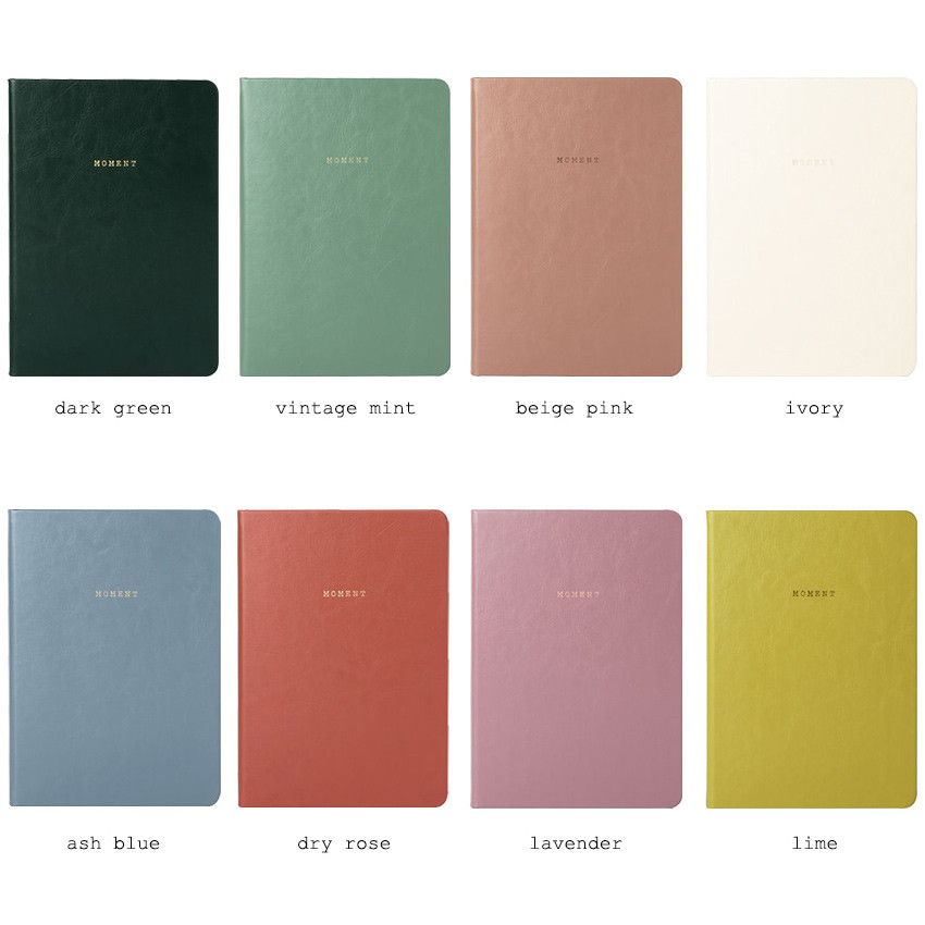 Colors of 2019 Moment dated weekly diary