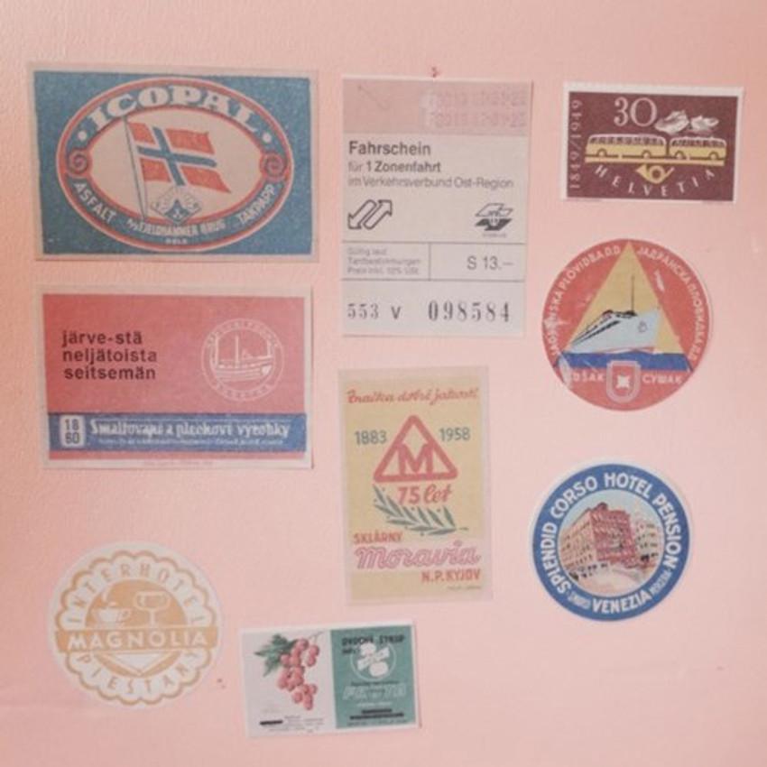 UNIVERSAL CONDITION Vintage color deco sticker