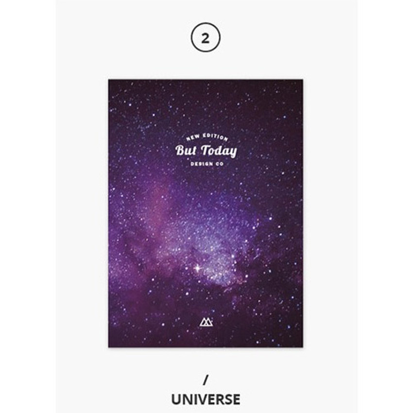 Universe - But today dateless weekly diary agenda ver5