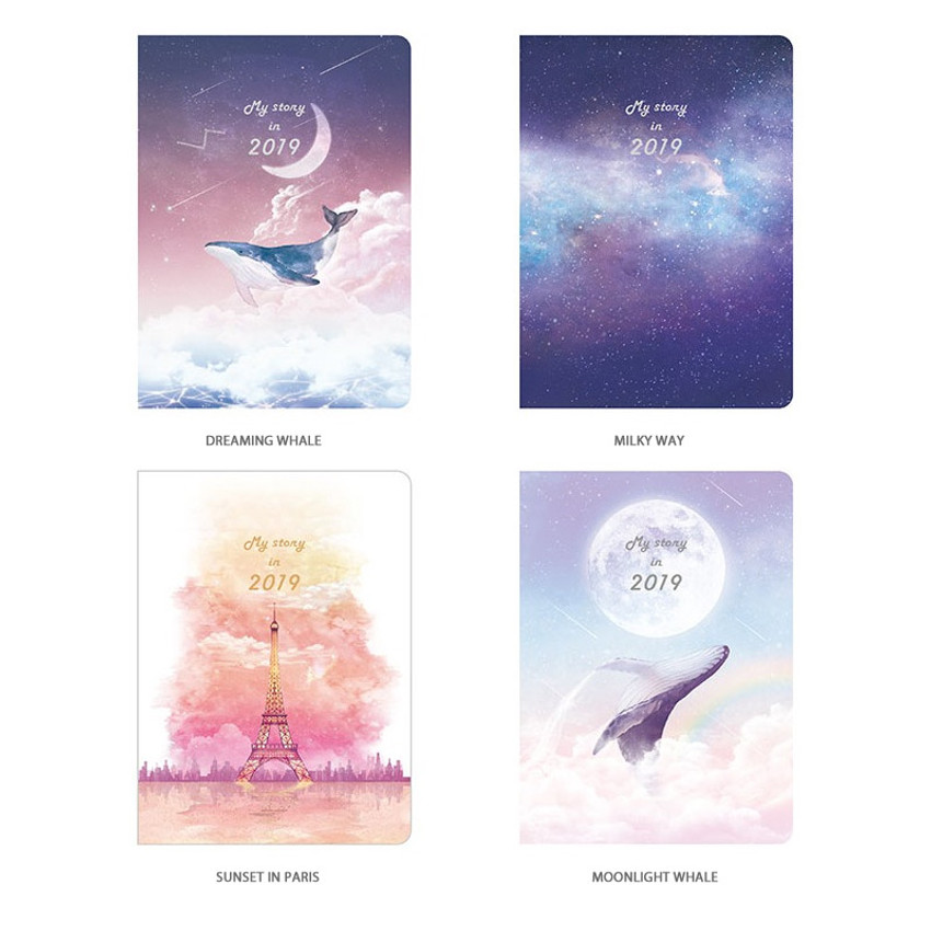 2019 My story small dated daily diary journal