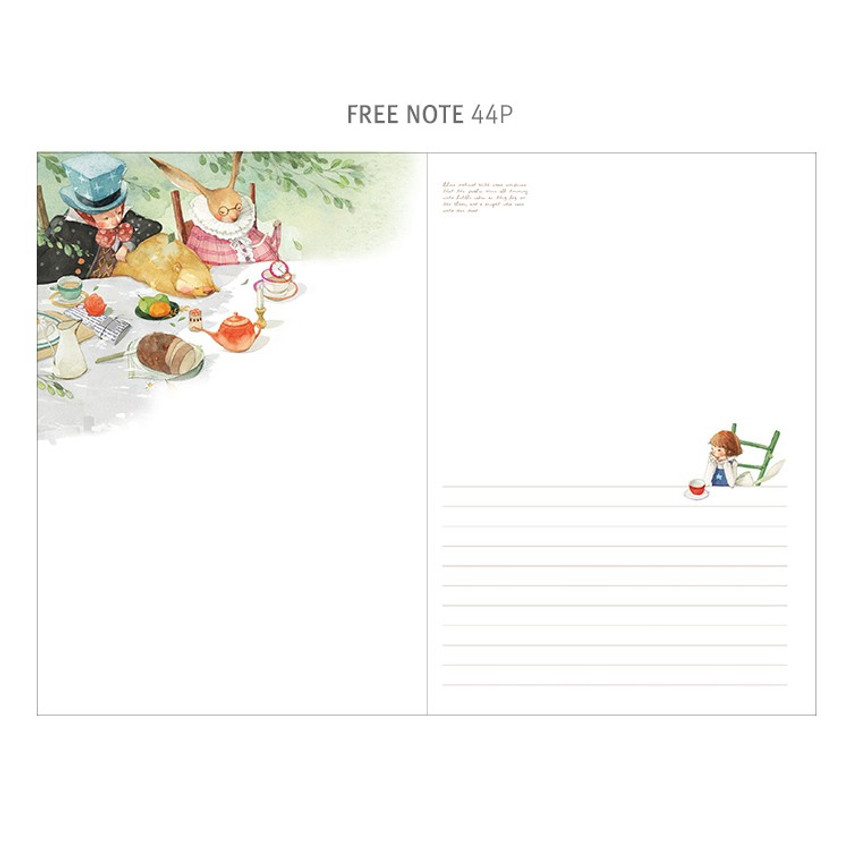 Free note - Indigo Classic story undated monthly diary
