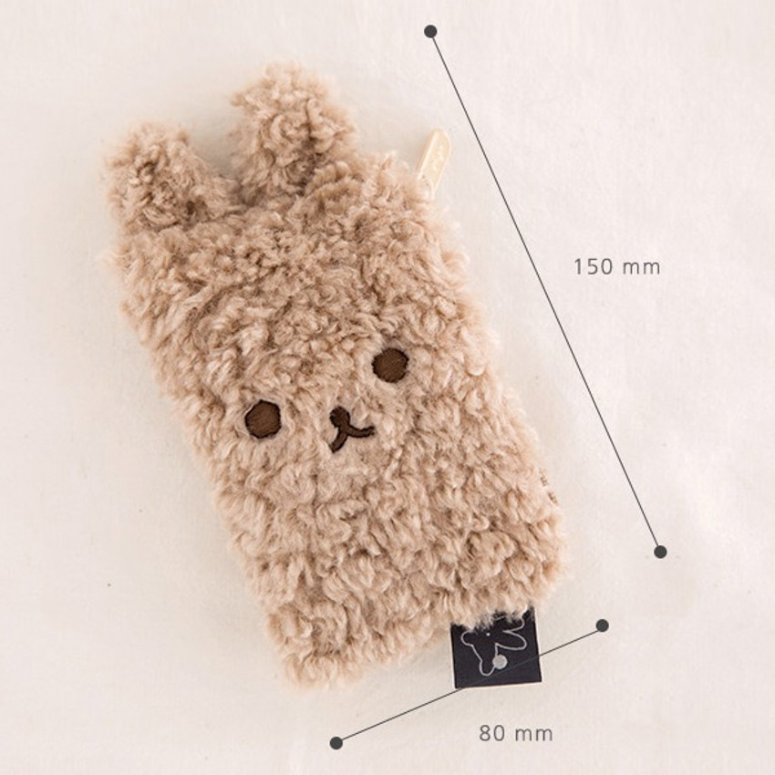 Size - Livework Piyo popuree card case wallet zipper pouch