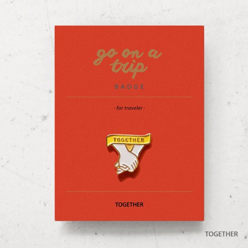 Together - gyou Go on a trip badge