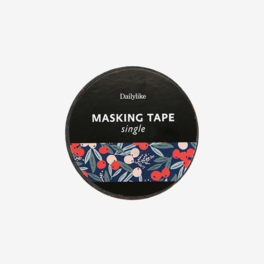 Dailylike Manchu cherry single roll washi masking tape