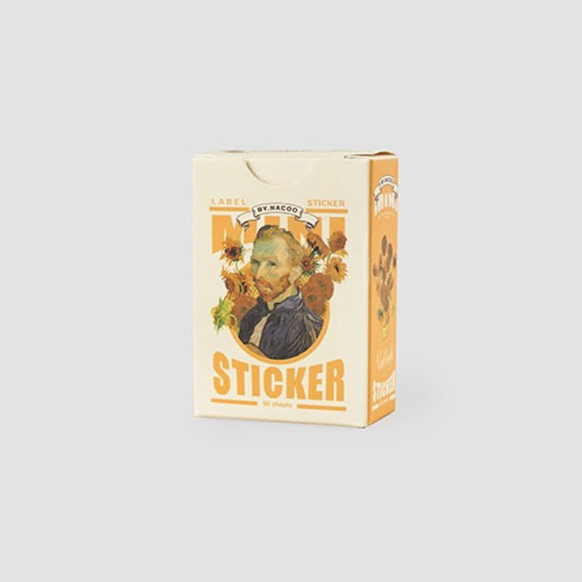 NACOO Vincent van Gogh small label sticker set