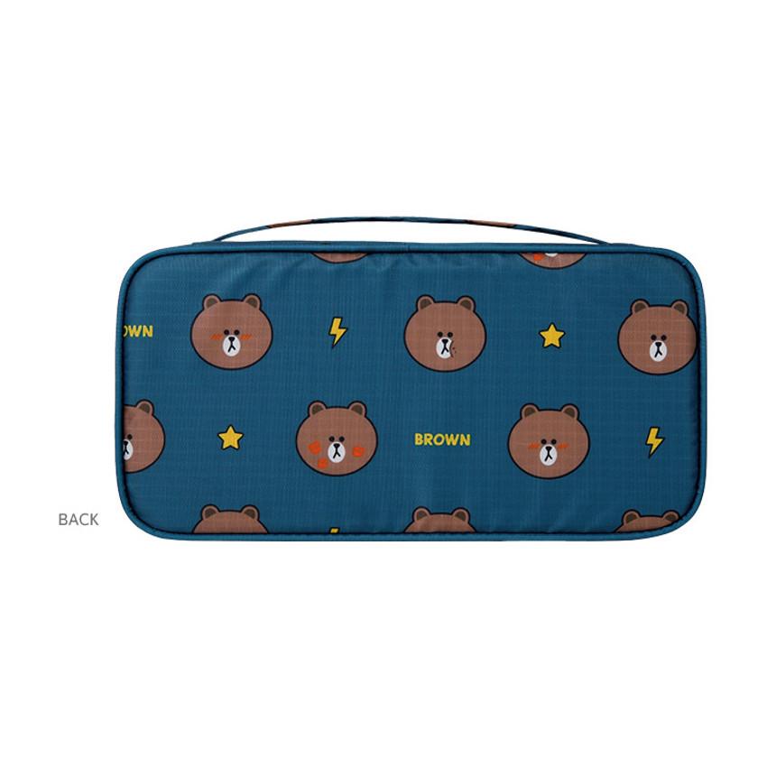 Back - Line friends travel underwear pouch organizer