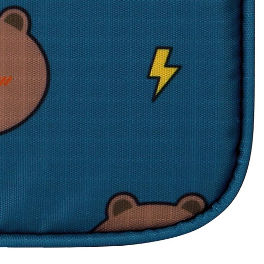 Detail of Line friends travel underwear pouch organizer