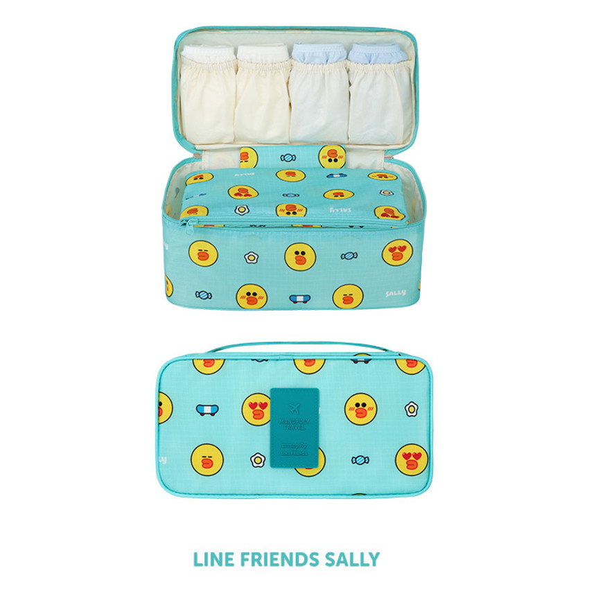 Sally - Line friends travel underwear pouch organizer