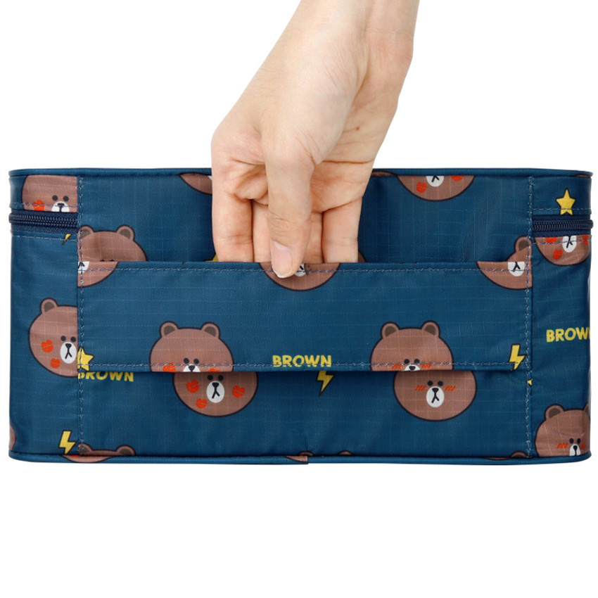 Top handle - Line friends travel underwear pouch organizer