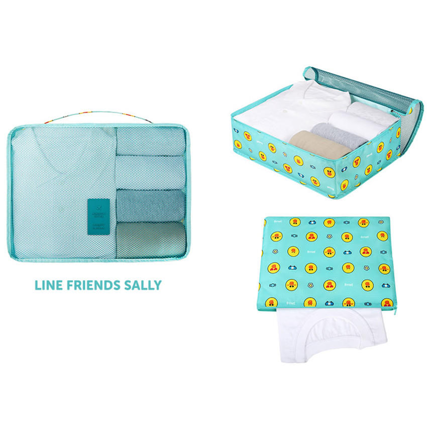 Sally - Line friends large travel packing cube organizer bag (2018)