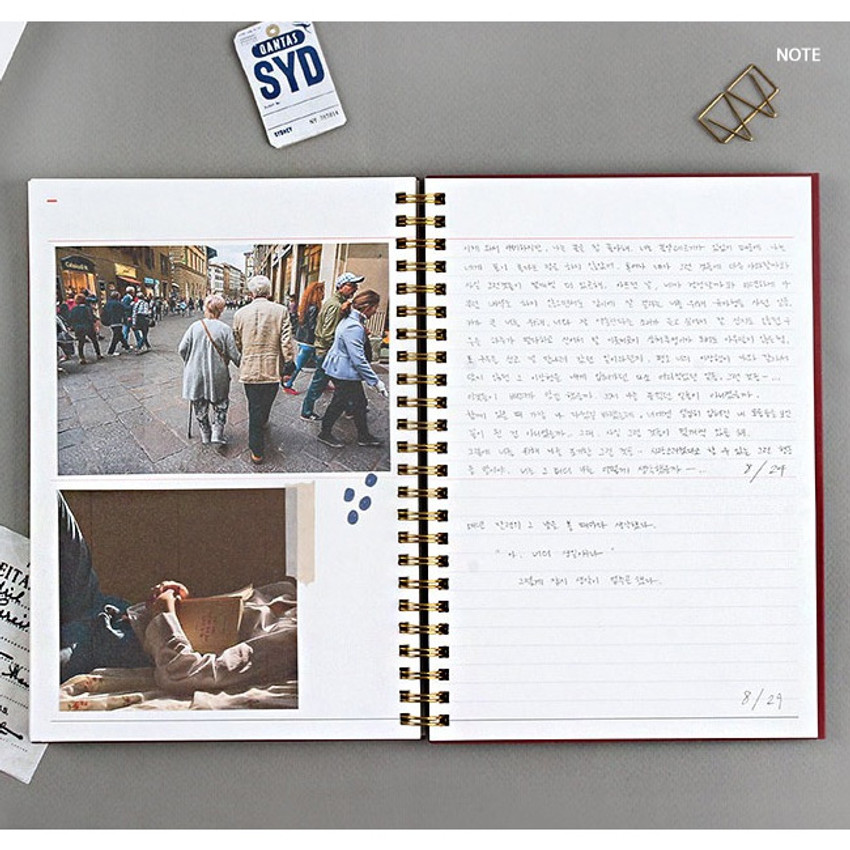 Note - Wanna This Classic spiral bound dateless weekly planner