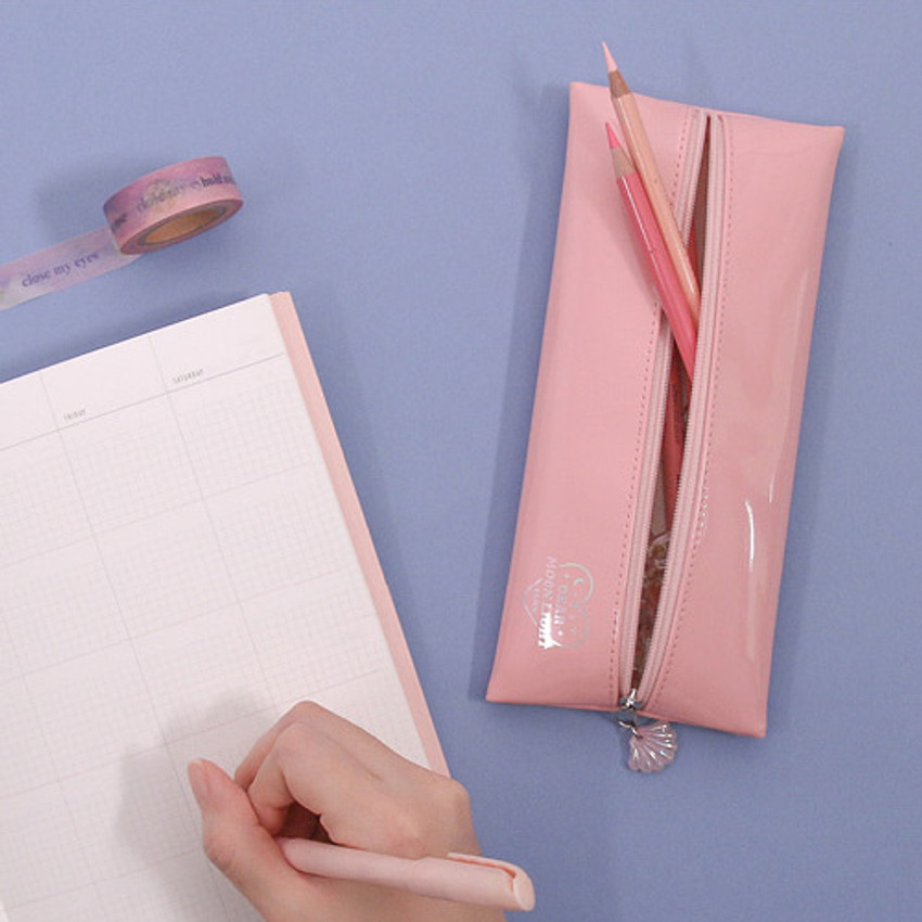 Second mansion Dear moonlight zipper pencil case pouch
