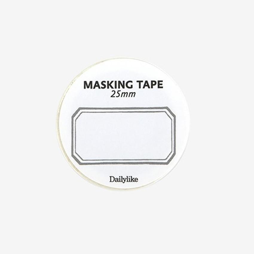 Dailylike Deco 25mm single roll masking tape - Frame