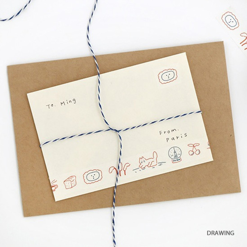 Drawing - Brunch Brother washi paper deco masking tape