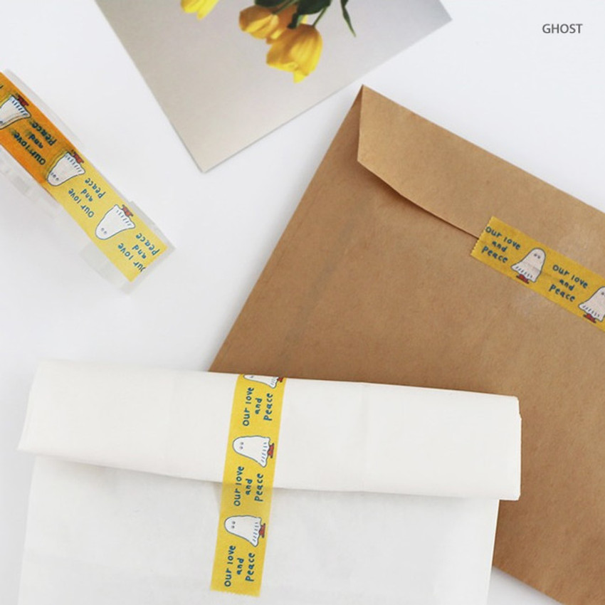 Ghost - Brunch Brother washi paper deco masking tape
