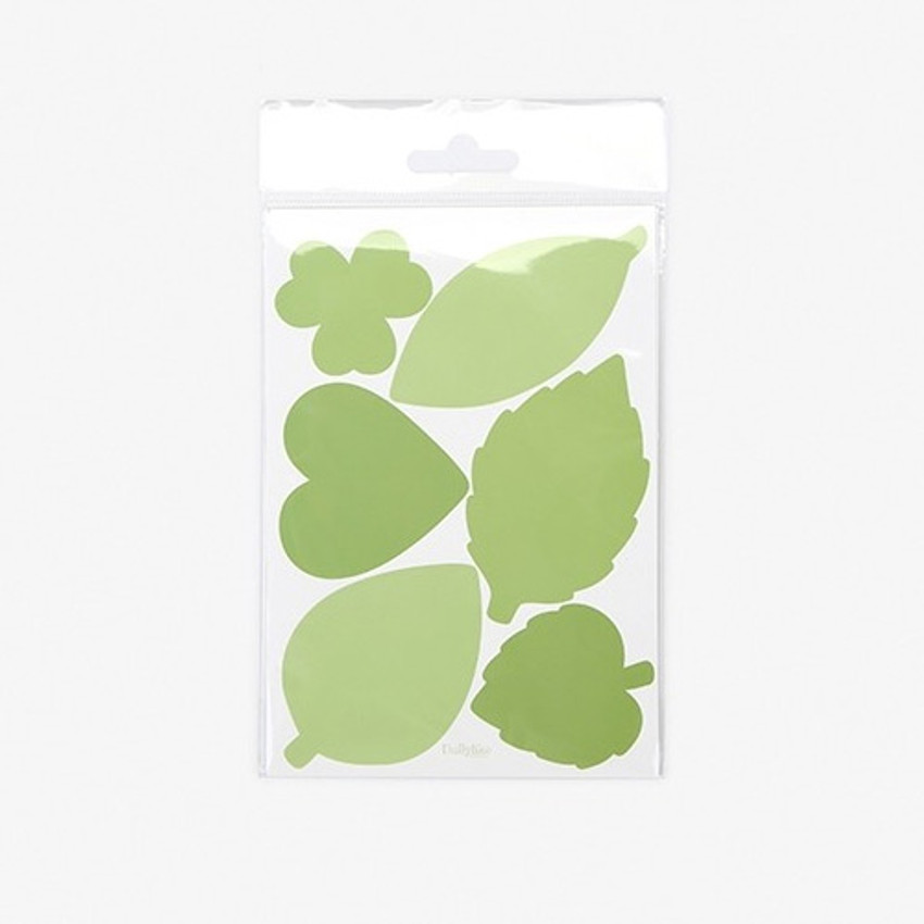Package - Dailylike Leaf name tag label sticker set