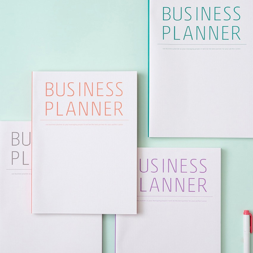 undated weekly planners