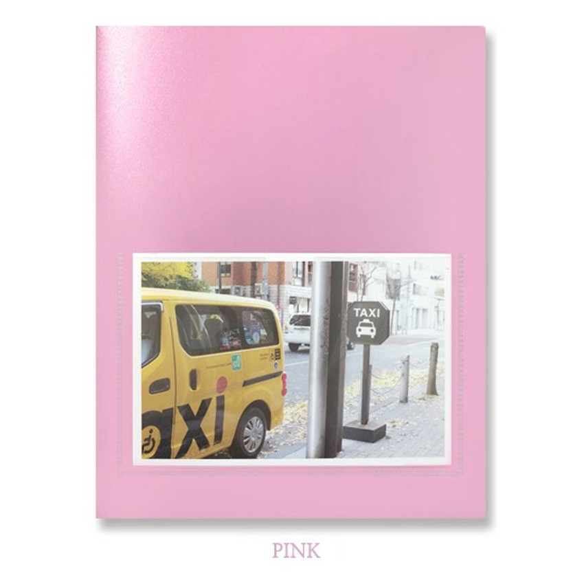 Pink - 2young Pastel 4X6 slip in 160 pockets photo album