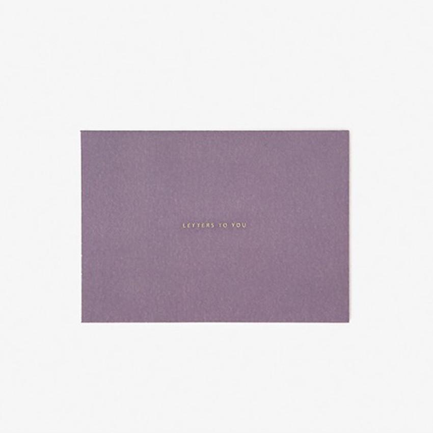 envelope  - Daily letter paper and envelope set - Sandersonia