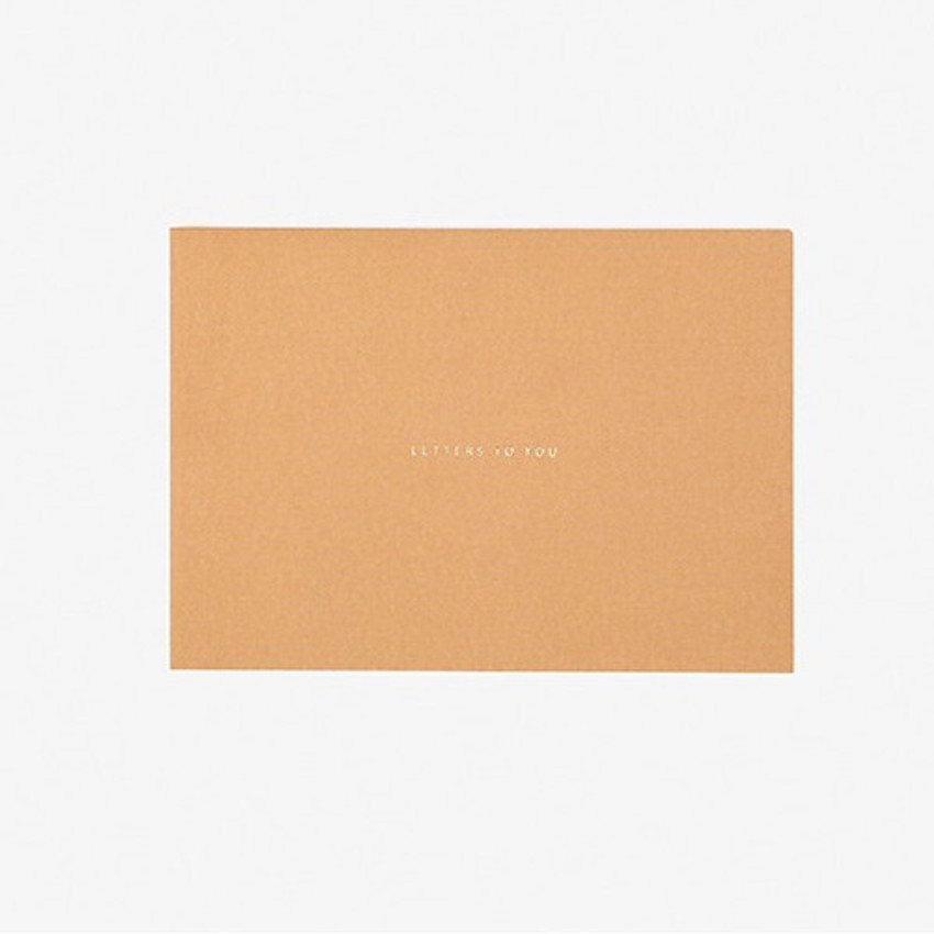 Envelopes - Daily letter paper and envelope set - The fox and the grapes