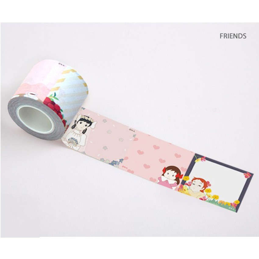 Friends - Anne of green gables single roll sticky memo note tape
