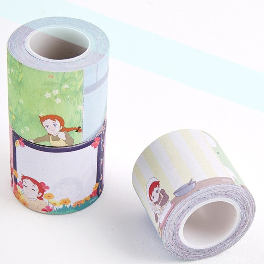 Flying Whales Anne of green gables single roll sticky memo note