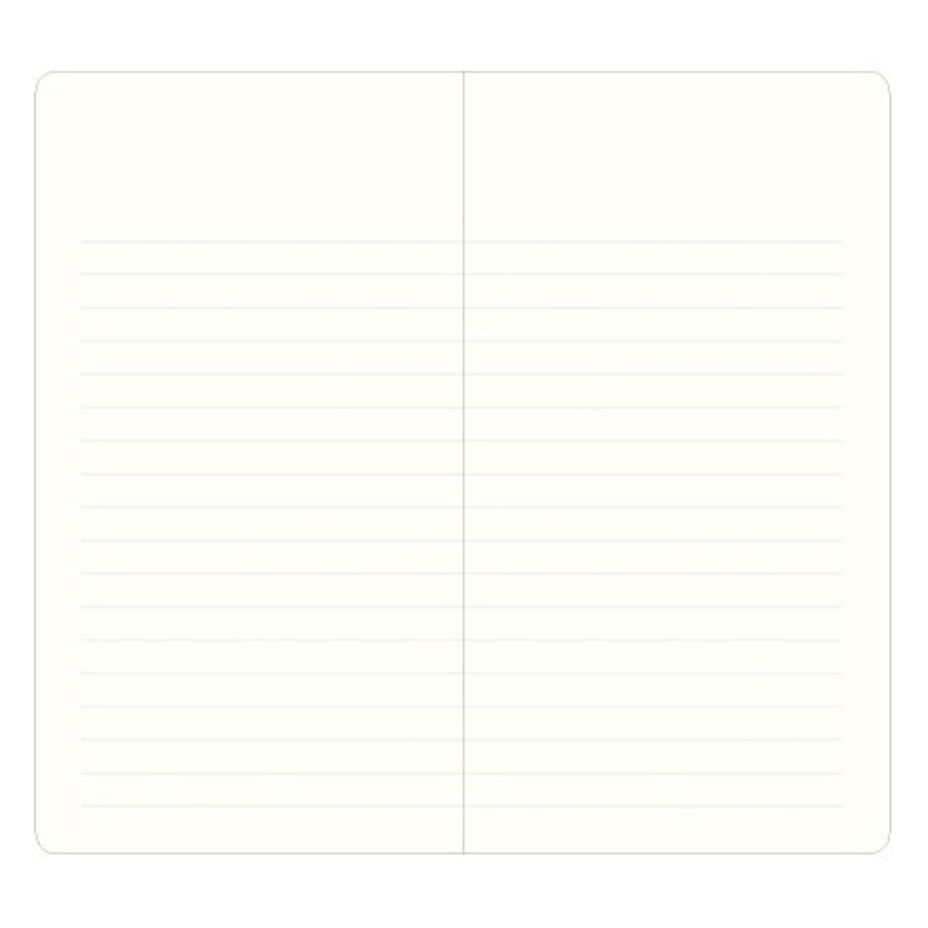 lined page - Record Remember Tomorrow small hardcover lined notebook