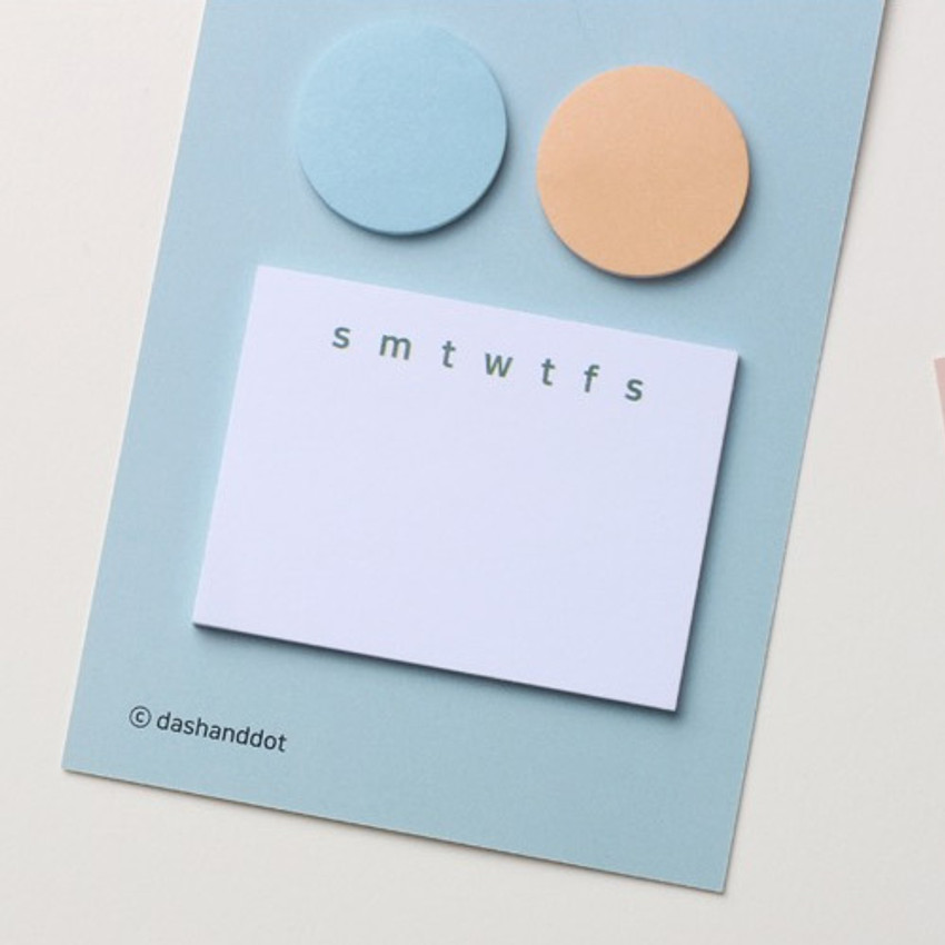 Soda - Dots and angle memo notes sticky notepad