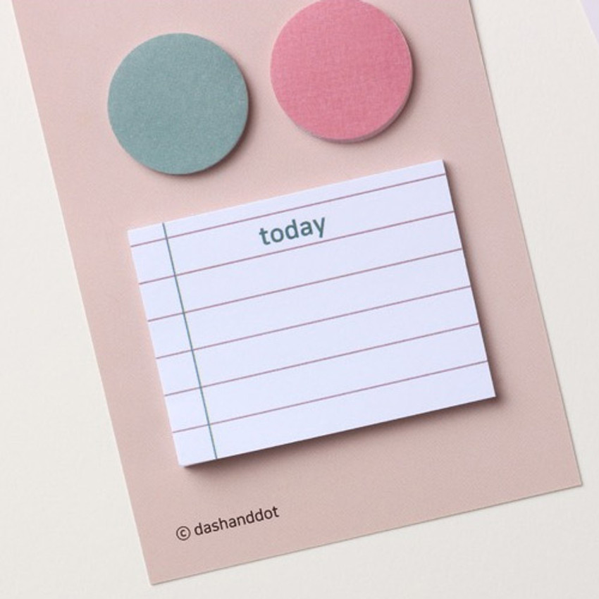 Tomato - Dots and angle memo notes sticky notepad