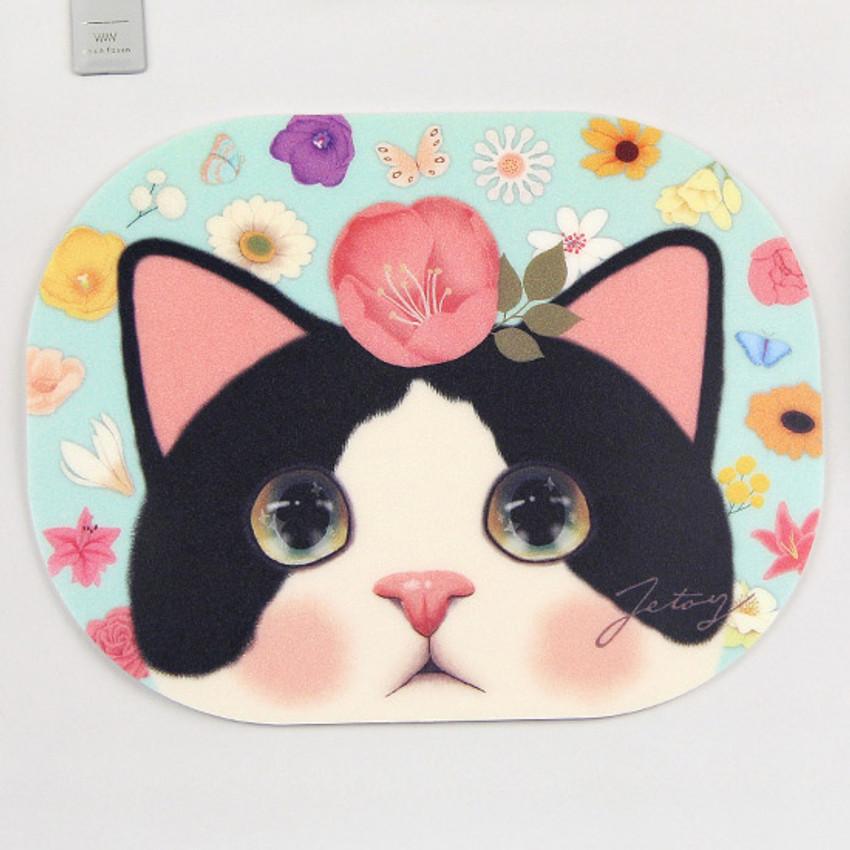 Jetoy Choo Choo lovely cat mouse pad