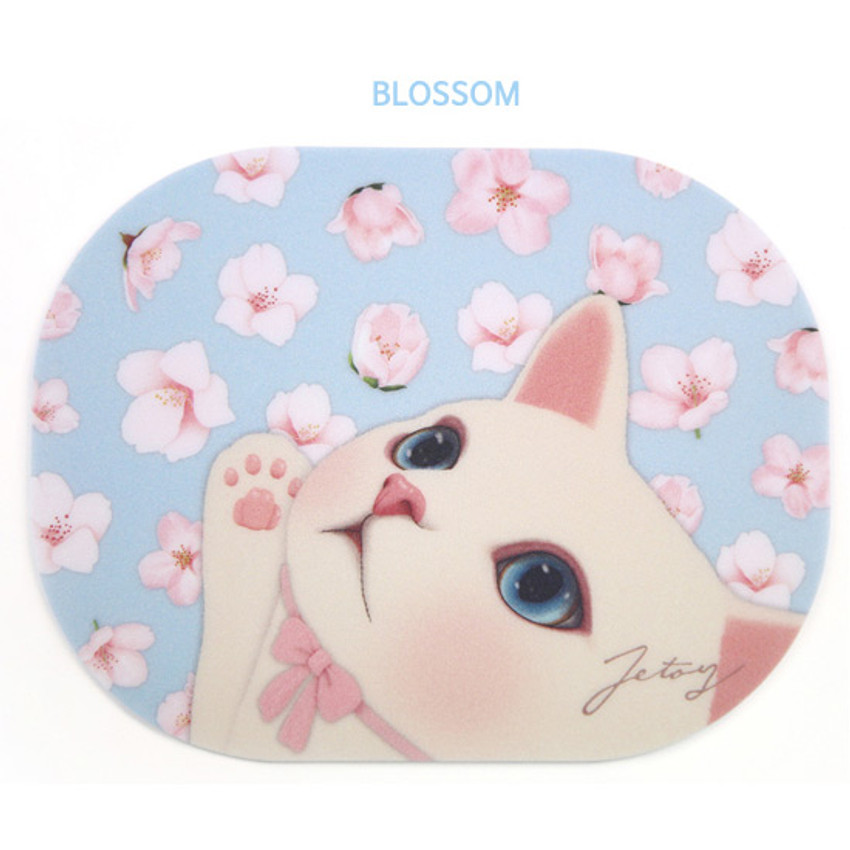 Blossom - Jetoy Choo Choo lovely cat mouse pad