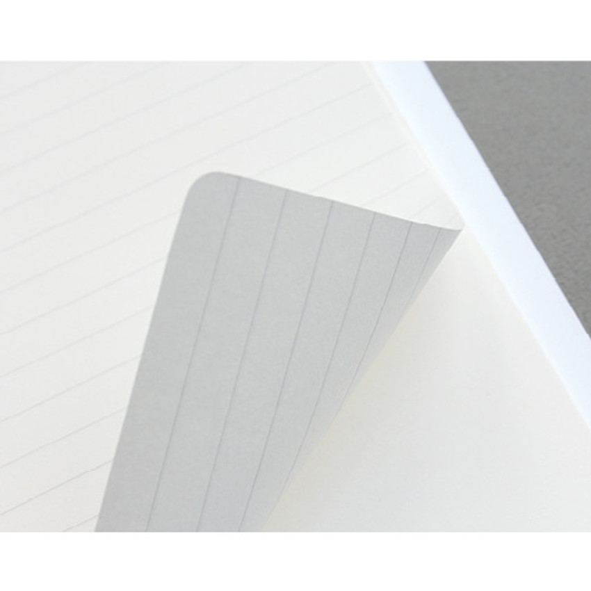 80gsm paper - Combination spiral large lined blank notebook