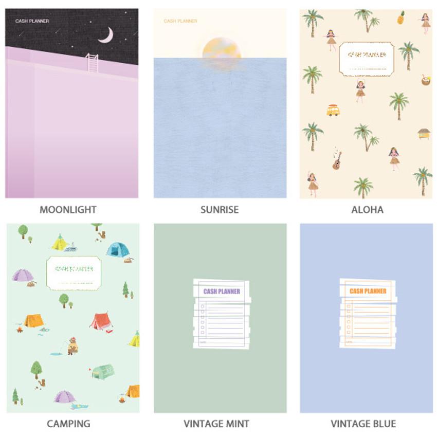 Option - O-CHECK Spring come cash book planner