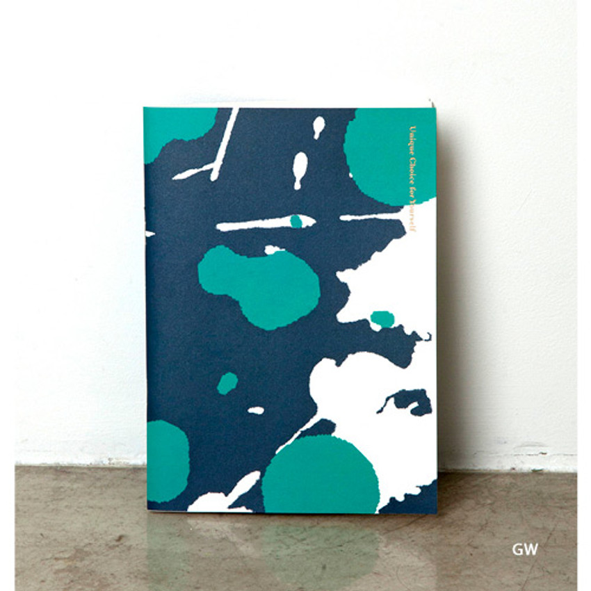 GW - Painting cover medium lined notebook