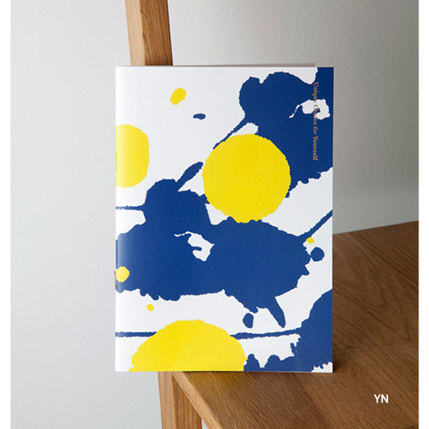 YN - Painting cover medium lined notebook