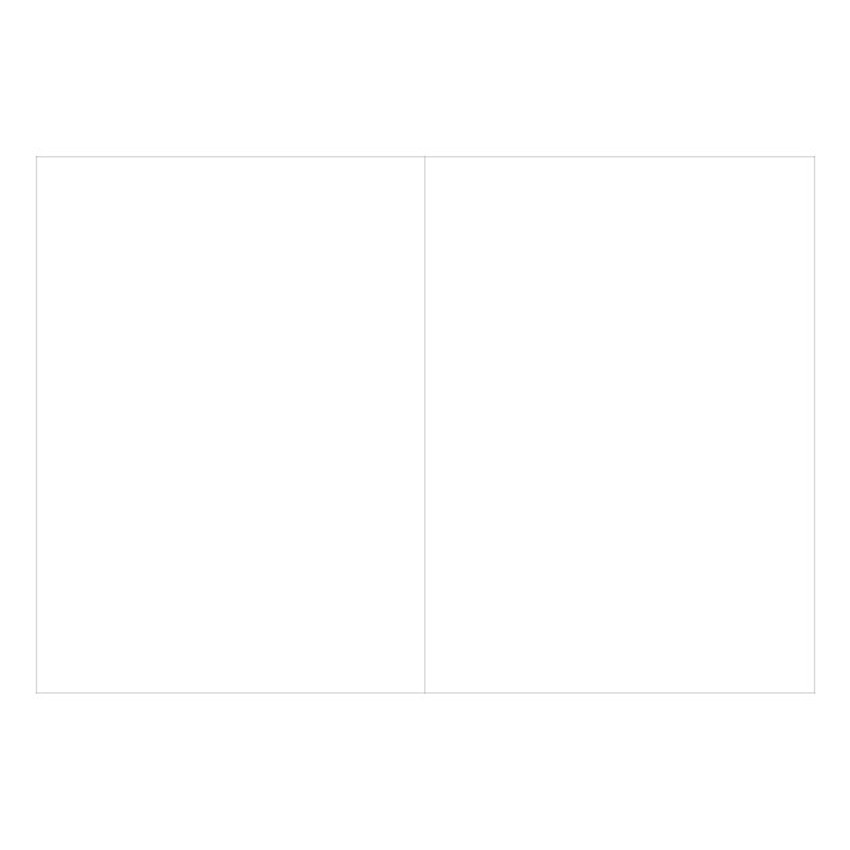 Plain pages - O-CHECK Spring come small blank school notebook