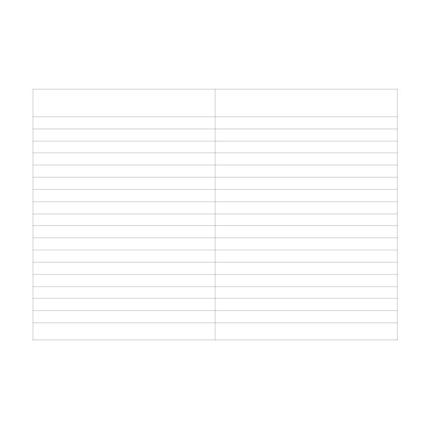 Lined pages - O-CHECK Spring come small lined school notebook