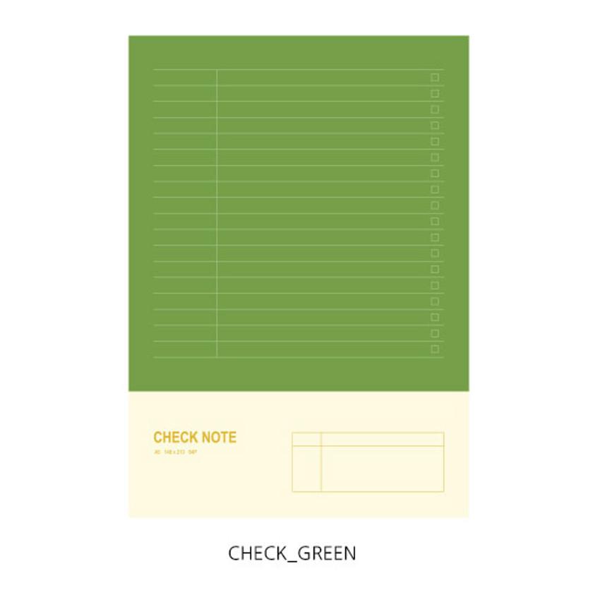 Check - O-CHECK Spring come medium school notebook