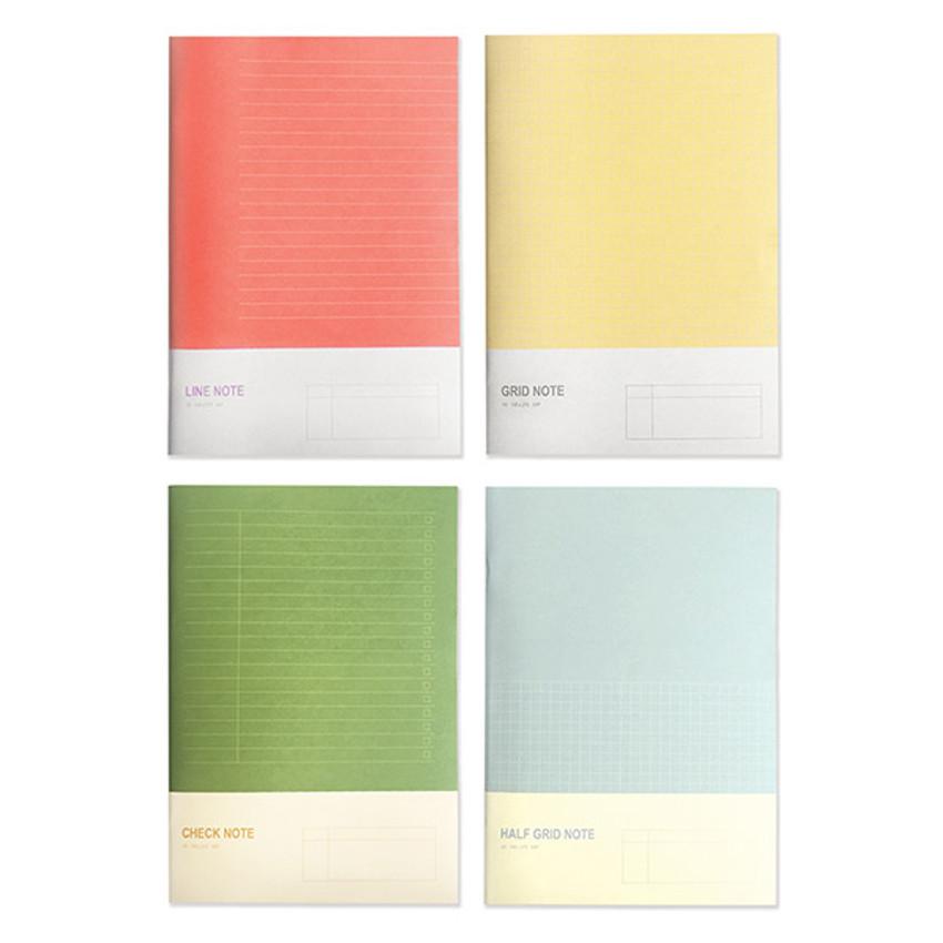 O-CHECK Spring come medium school notebook
