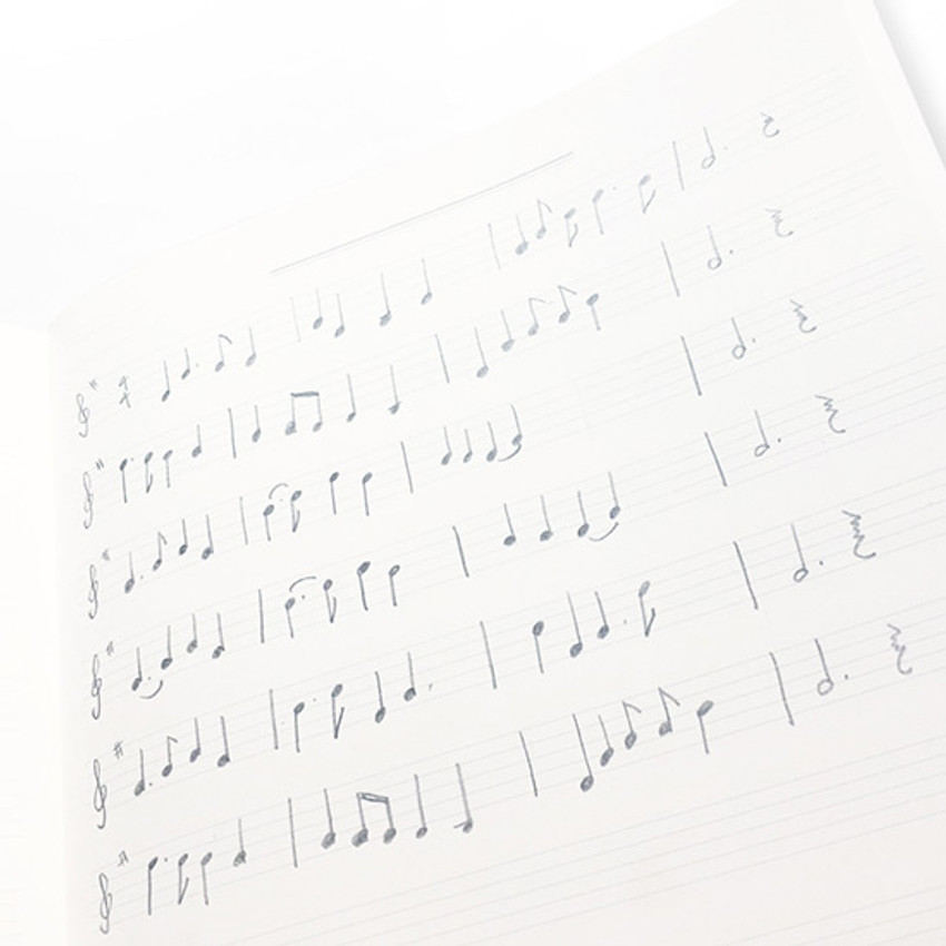 Music - O-CHECK Spring come large school notebook