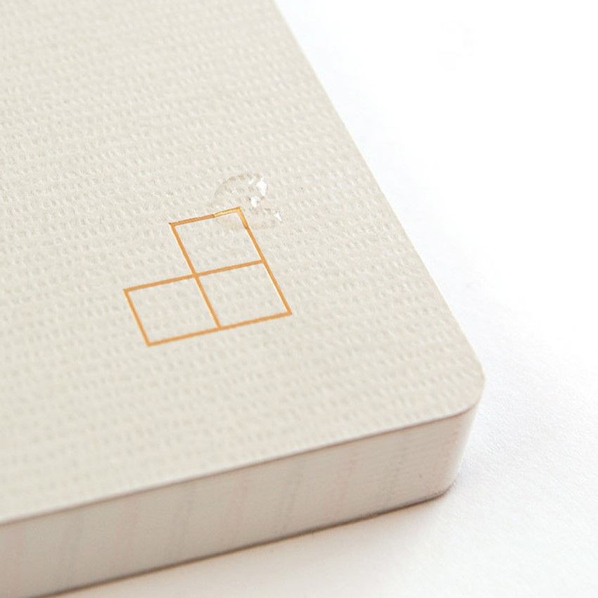 Detail of Simple G A5 grid soft cover notebook
