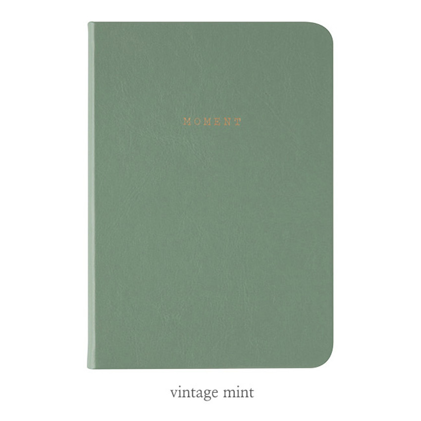 Vintage mint - Livework Moment small lined notebook ver3
