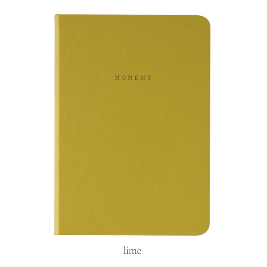 Lime - Livework Moment small blank notebook ver3